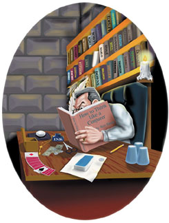 "THE ""Underground Legend"" Hard at Work!"