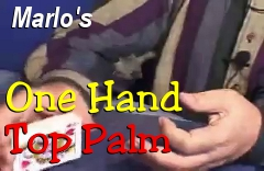 RB One Hand Top Palm